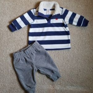 Carter's Fleece Pullover and Pants